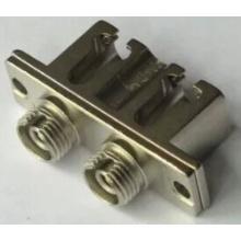 LC-FC Adaptador óptico de fibra de metal dúplex