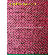 New Design African Cord Lace High Quality African Guipure Cord Lace 100 Polyester Knit Fabric