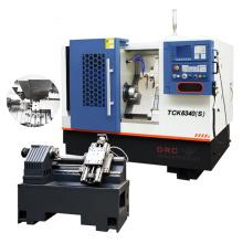 High precision 300-500mm working length slant bed cnc lathe machine