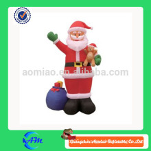 Regalos inflables de Navidad, inflables santa claus para la venta