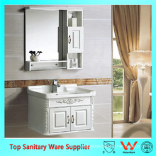 24 inch bathroom vanity, wash basin mirror cabinet PVC