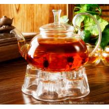 Olla de té de 600ml con filtro de acero inoxidable