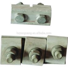 accessoires parallèles de lien de fil de pince / pistolet de pince de cannelure / raccord de épissure de câble / raccord électrique de ligne d'alimentation d'alliage d'aluminium