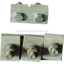 braçadeira paralela braçadeira clipe / arma acessórios de ligação de fio / encaixe de emenda de cabo / liga de alumínio elétrico power line fitting