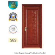 Classic Style Water Proof MDF Door for Interior with Solid Wood (xcl-822)