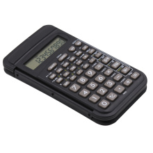 Silicon Button Scientific Calculator with Flip Cover