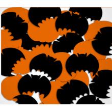 Хэллоуин тыква и Летучая мышь Лавсановой конфетти для праздника