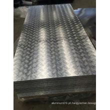 5052 H114 Placa de piso de alumínio para Deck Board