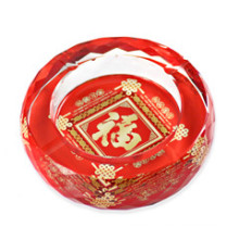 Chinese Style Crystal Ashtray for Home & Gift (JD-CA-901)