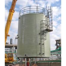 Tanque de FRP para água potável enrolada no local