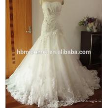 Lace Appliques Ball Gown Wedding Dress Floor Length Sleeveless blush wedding dress