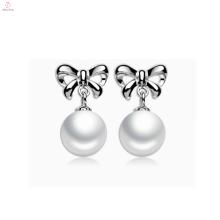 Cute Fashion Sterling Silver 925 Earring Pearl Stud
