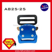 A825 Aluminum Small Harness Rock Mountain Climbing Sport Belt Fashion bag Quick Release Buckle