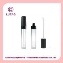 Bouteille de cosmétique de luxe acrylique jar lip gloss