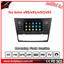 Hla 8798 GPS Car Tracker Android 5.1 voiture DVD GPS pour BMW 3 E90 / E91 / E92 / E93 Navigateur GPS pour voiture