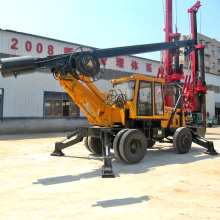 Small diesel soil drilling rig machine