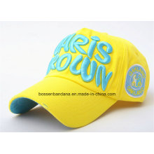 Factory Supply Customized Logo Embroidered Sports Promotional Cotton Baseball Cap
