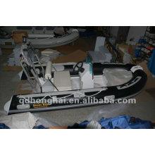 barco de fibra de vidrio casco rígido HH-RIB350 con CE