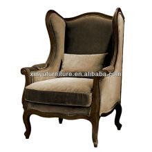 European style vintage single sofa for living room XF1044