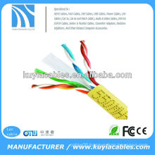 Yellow Cat6 utp cable for AMP for gigabit ethernet