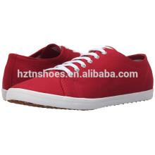 China fabricante atacado sapatos de lona para homens