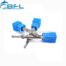 Bocados de broca de aço da etapa do carboneto das ferramentas de corte do CNC de BFL para a máquina de trituração