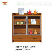 Modern New Design Office Wooden Melamine Tea Cabinet (H30-0712)