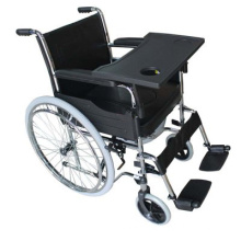 THR-H005B Manual Folding Wheelchair with Bedpen