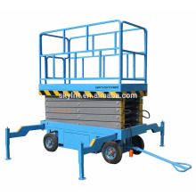 four wheel mobile manlift