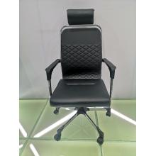 Classical black leather office furniture