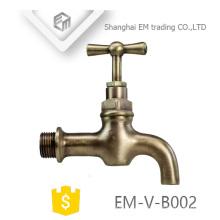 """ЭМ-Фау-B002 1/2""""Литой с общей латунь смесители воды кран для сада"""