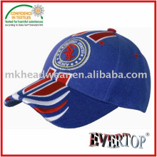 heavy brushed cotton sport cap with fashion embroidery design
