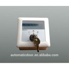Interruptor de llave DEPER para puerta automática