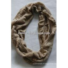fashin Cachemire crochet écharpe