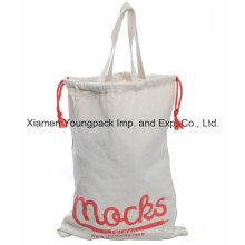 Bolsa ecológica de algodón con cordón
