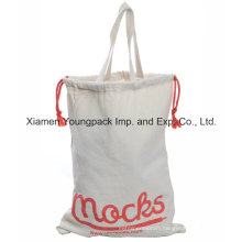Eco Friendly Cotton Tote Bag with Drawstring