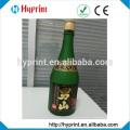 Custom glass bottle wine bottle labels