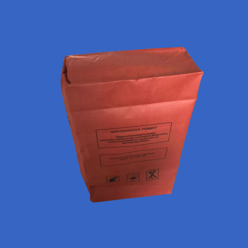 25KG Valve Port Die Cut Handle Kraft Paper-Bag