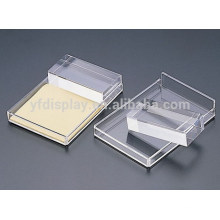Semicircle Clear Acrylic Name Card Display Holder