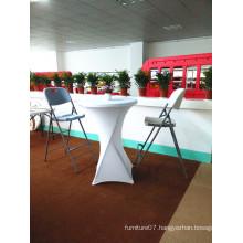 80cm Plastic Round Banquet Cocktail Bar Folding Table