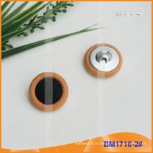 Комбинированная кнопка с крышкой для ткани BM1716