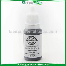 Tatouage maquillage permanent sourcil Pigment de couleur grise