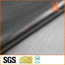 Polyester Anti-UV Inherently Fire Retardant Fireproof Metallic Silver Lurex Fabric