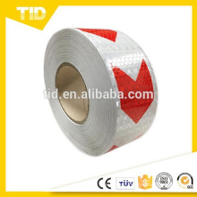T7500 arrow reflective Tape, white & red, warning tape