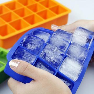 Silicone Ice Cube Tray Cubes de Glace Carrés