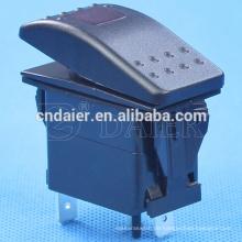 Daier Marine Schalter LED wasserdichte Wippschalter