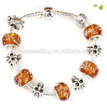 Bracelet en pierres précieuses en argent sterling 925 925 en cristal