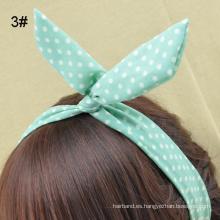 Cabeza de Hairbow del oído de conejo para el peinado del pelo (HEAD-211)