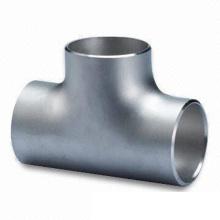 T de redução de aço carbono Asme b16 9
