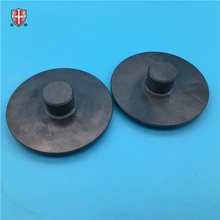 black silicon nitride machining ceramic disk disc plate